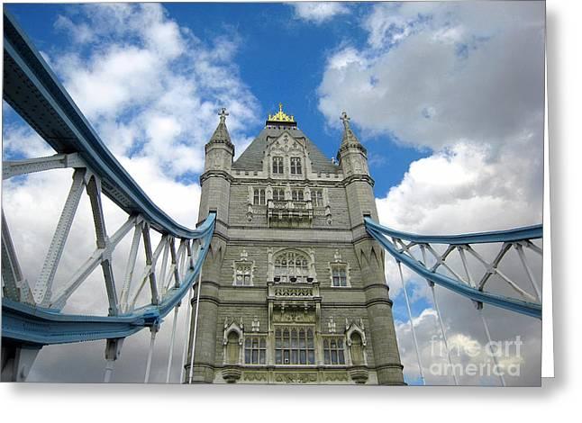 Tower Bridge 2 Greeting Card by Madeline Ellis