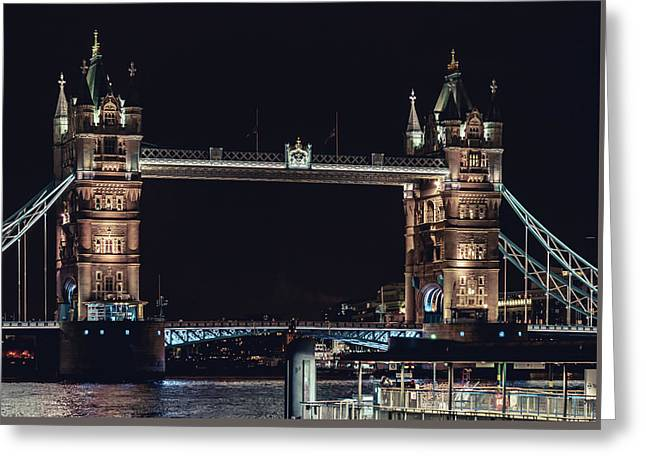 Tower Bridge 4 Greeting Card