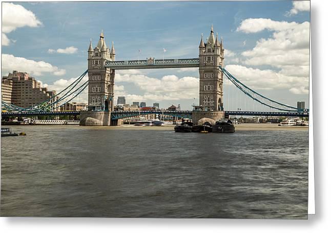 Tower Bridge A Greeting Card