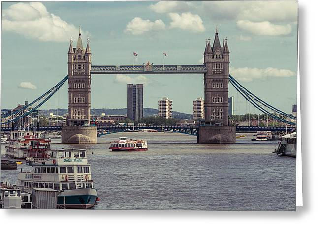Tower Bridge B Greeting Card