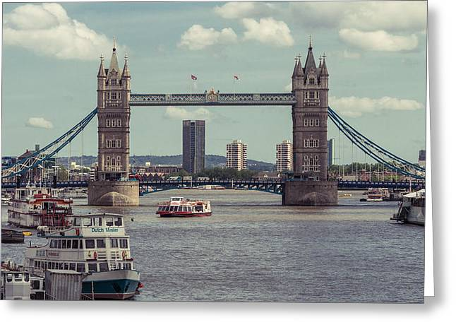 Tower Bridge B Greeting Card