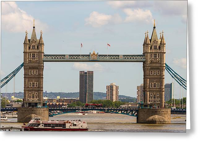 Tower Bridge C Greeting Card