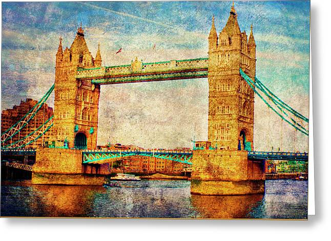 Tower Bridge London Greeting Card