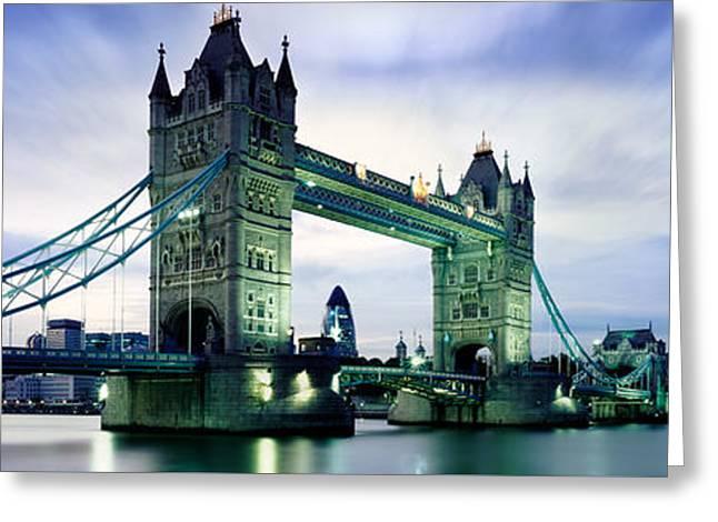 Tower Bridge - London Greeting Card by Rod McLean