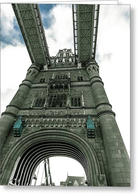 Tower Bridge Greeting Card by Patrick Kain