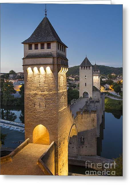Tower Bridge - Pont Valentre Greeting Card