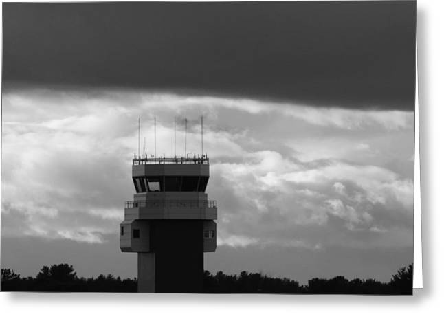 Tower Closed Greeting Card by Bill Tomsa