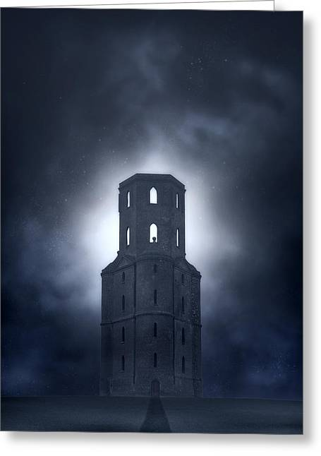 Tower Greeting Card by Joana Kruse