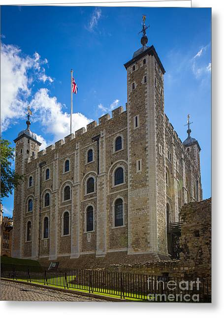 Tower Of London Greeting Card by Inge Johnsson