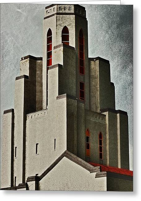 Tower Of Memories Greeting Card by Kevin Munro