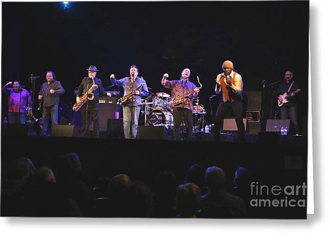 Tower Of Power Band Photo Greeting Card by Tower of Power