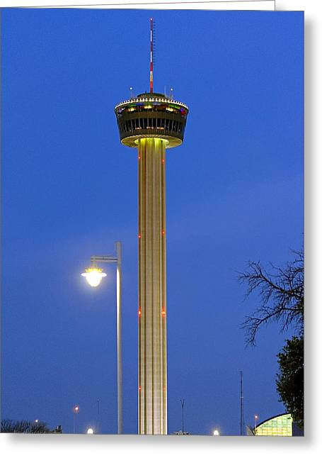 Tower Of The Americas Greeting Card