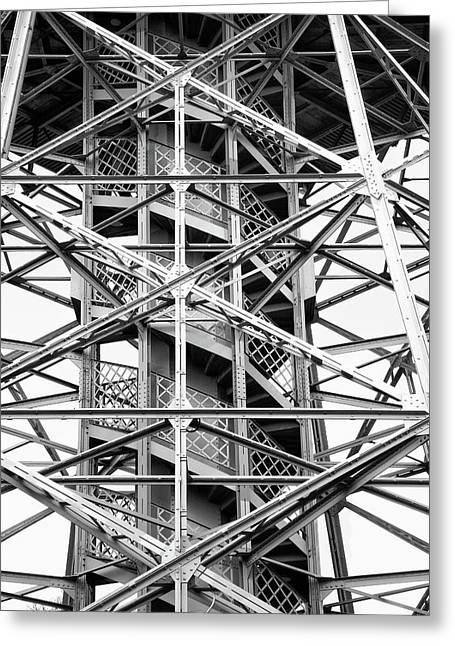 Tower Greeting Card by Philip Openshaw