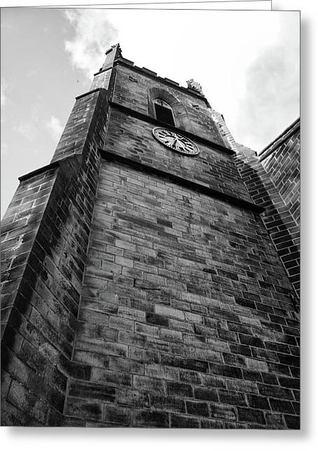 Tower, St John The Baptist In The Wilderness Greeting Card by Philip Openshaw