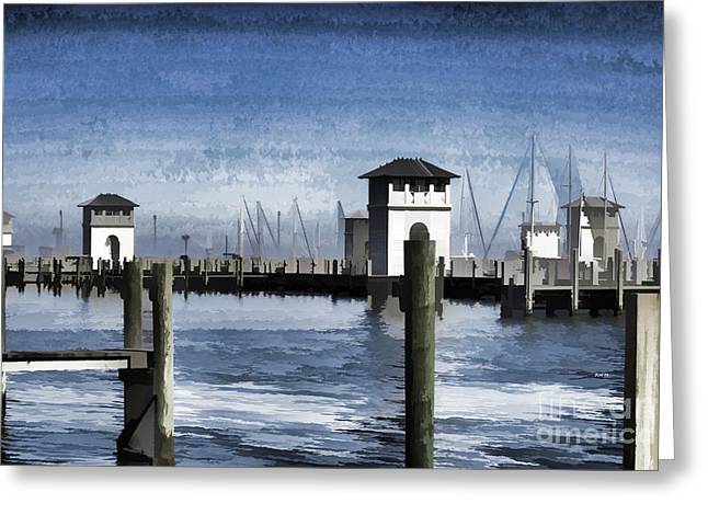 Towers And Masts Greeting Card