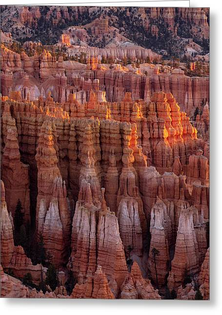 Towers Of Bryce Greeting Card