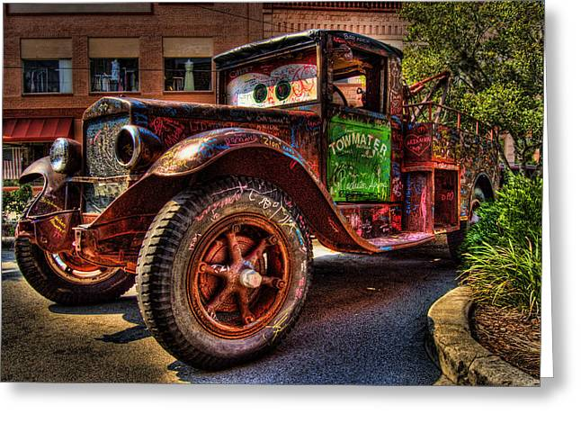 Ocala Greeting Cards - Towmater Greeting Card by Andrew Armstrong  -  Mad Lab Images