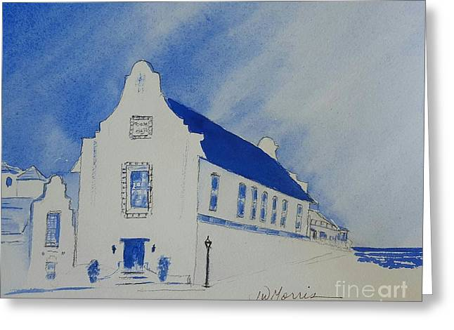 Town Hall, Rosemary Beach Greeting Card