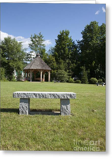 Town Park In Bartlett New Hampshire Usa Greeting Card by Erin Paul Donovan