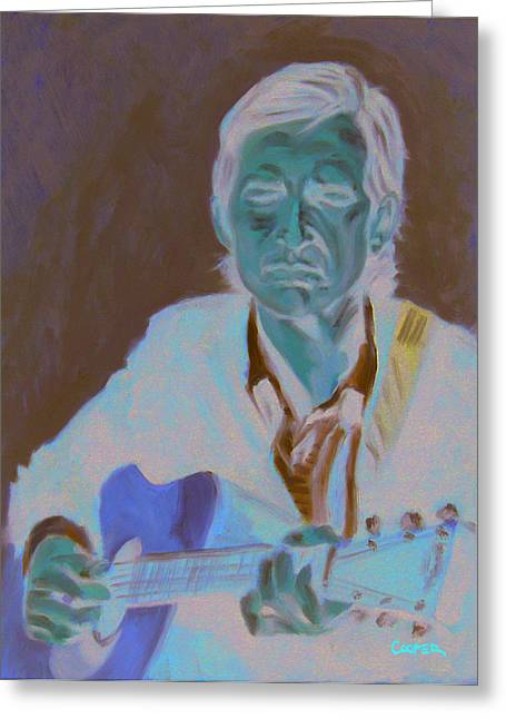 Townes Van Zandt Greeting Card