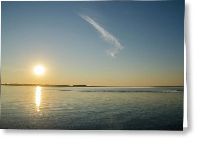 Townsends Inlet Sunrise Greeting Card by Bill Cannon