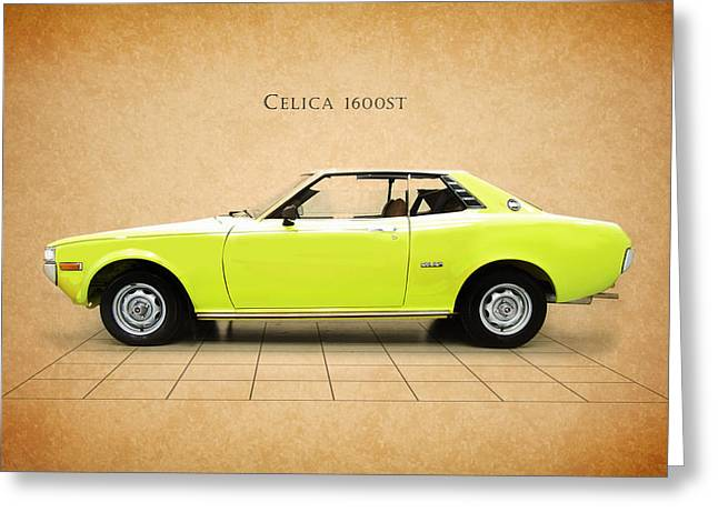 Toyota Celica 1600 St Greeting Card by Mark Rogan