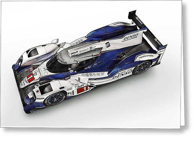 Toyota Ts030 Hybrid Greeting Card