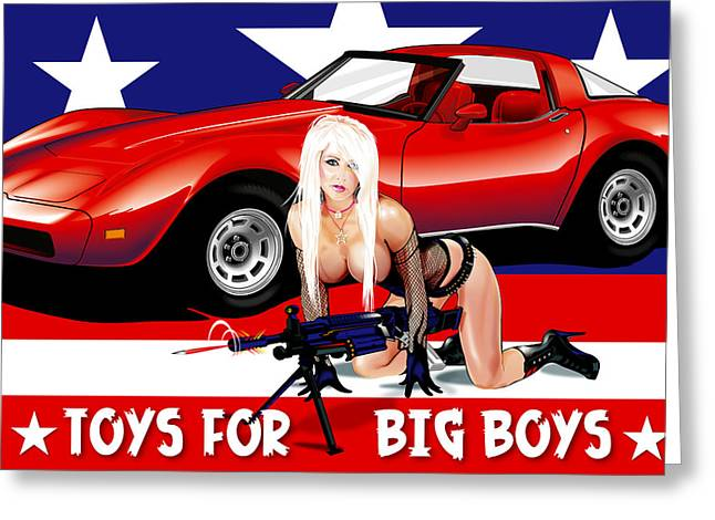 Art Toys For Boys : Toys for big boys digital art by brian gibbs