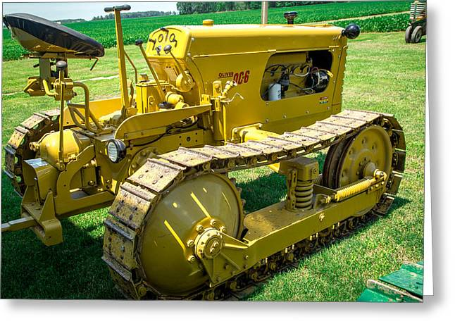 Tractor 4 Greeting Card by Gestalt Imagery