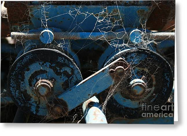 Tractor Engine IIi Greeting Card