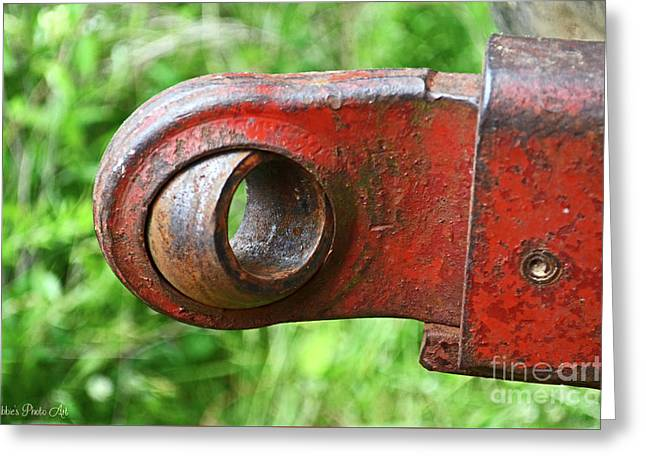 Tractor Parts, Ball Joint Greeting Card