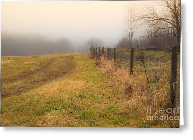 Forgotten Trails Greeting Card by Sabrina Ramina