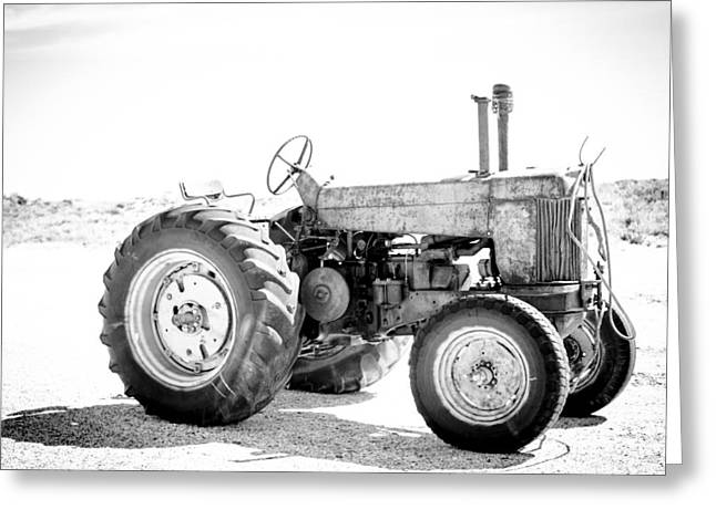 Tractor Greeting Card by Silvia Bruno