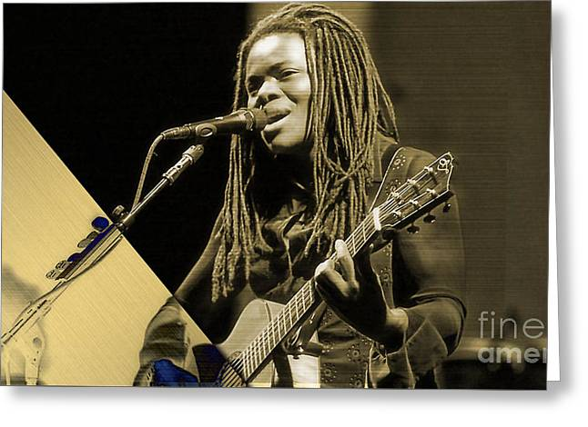 Tracy Chapman Collection Greeting Card