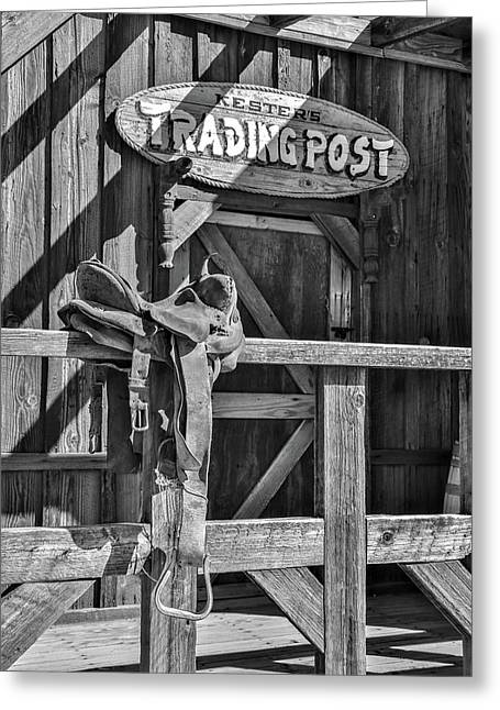 Trading Post Greeting Card