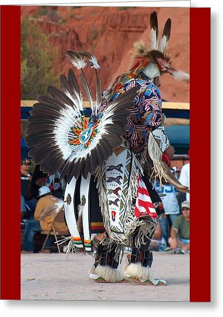 Traditional Elder Dancer Greeting Card