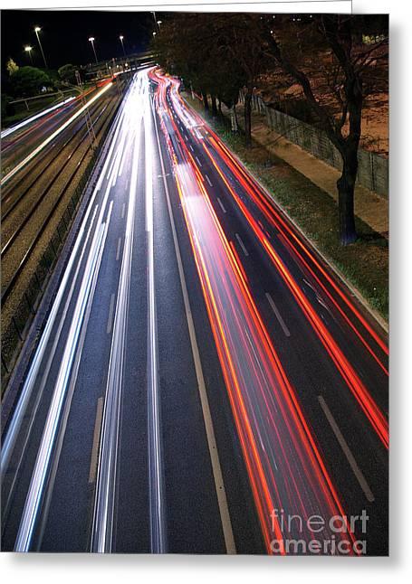 Traffic Lights Greeting Card