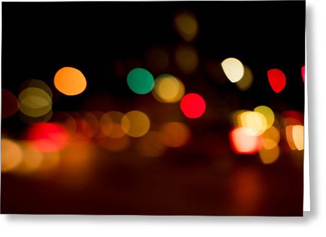 Traffic Lights Number 11 Greeting Card