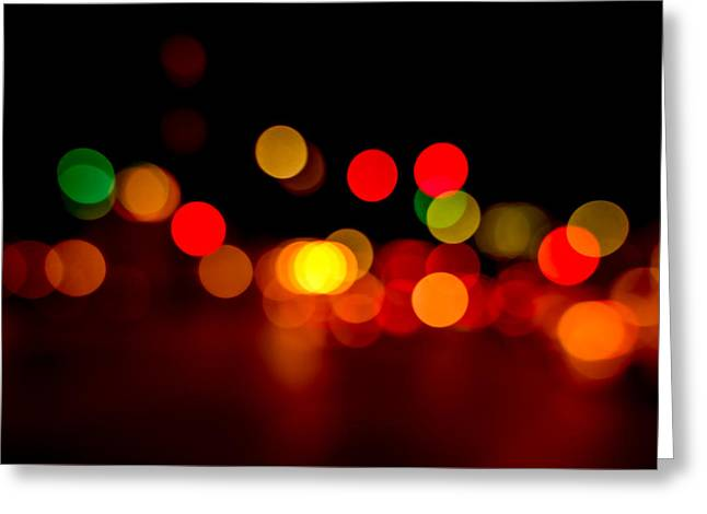Traffic Lights Number 8 Greeting Card