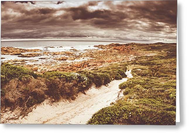 Trail To Western Tasmania Greeting Card