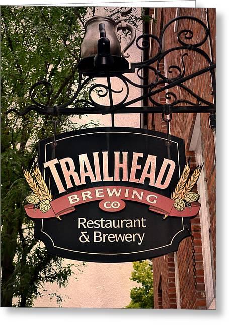 Trailhead Brewing Company Greeting Card