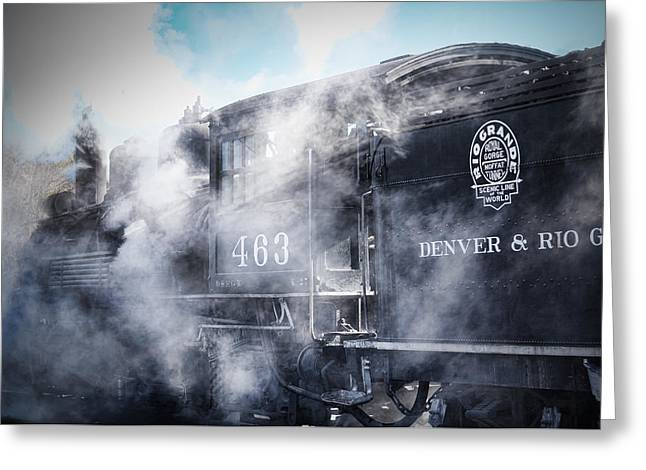 Train Engine 463 Greeting Card