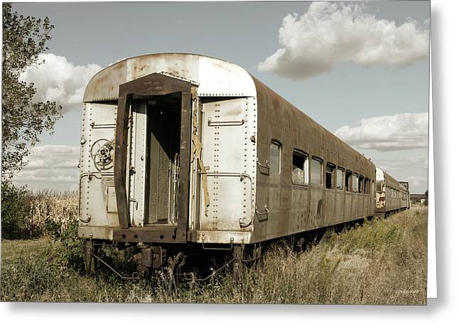 Train To Nowhere Greeting Card