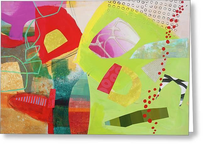 Train Wreck#4 Greeting Card by Jane Davies