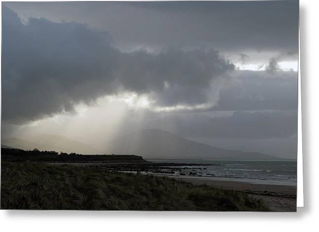 Tralee Bay Ireland Greeting Card by Richard Singleton