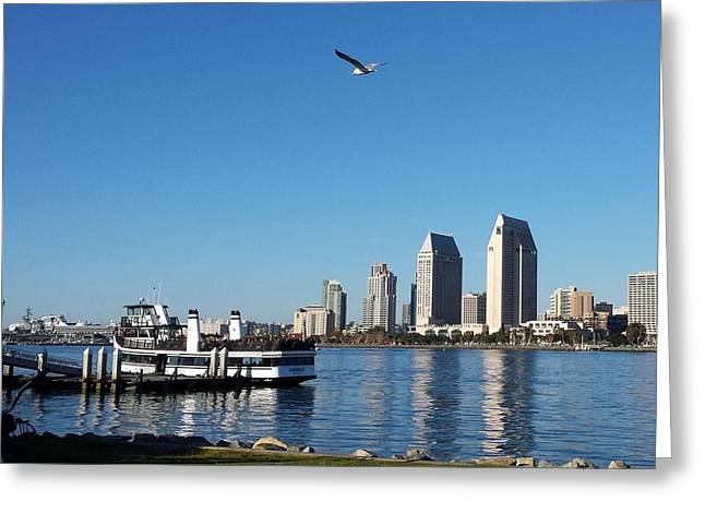 Tranquility By The Bay Greeting Card