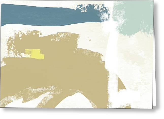 Tranquil Abstract 2- Art By Linda Woods Greeting Card