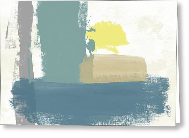 Tranquil Abstract 3- Art By Linda Woods Greeting Card