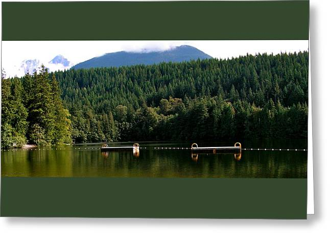 Tranquil Alice Lake Greeting Card