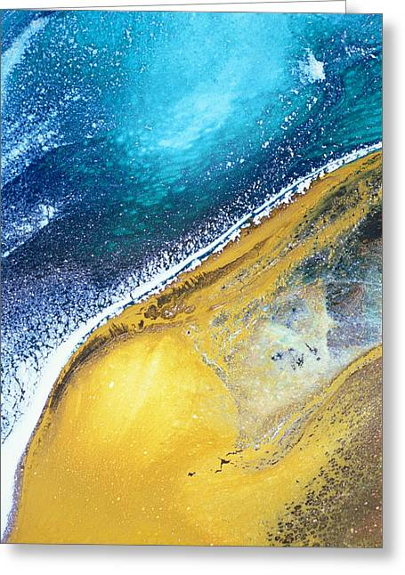Tranquil Beaches Greeting Card